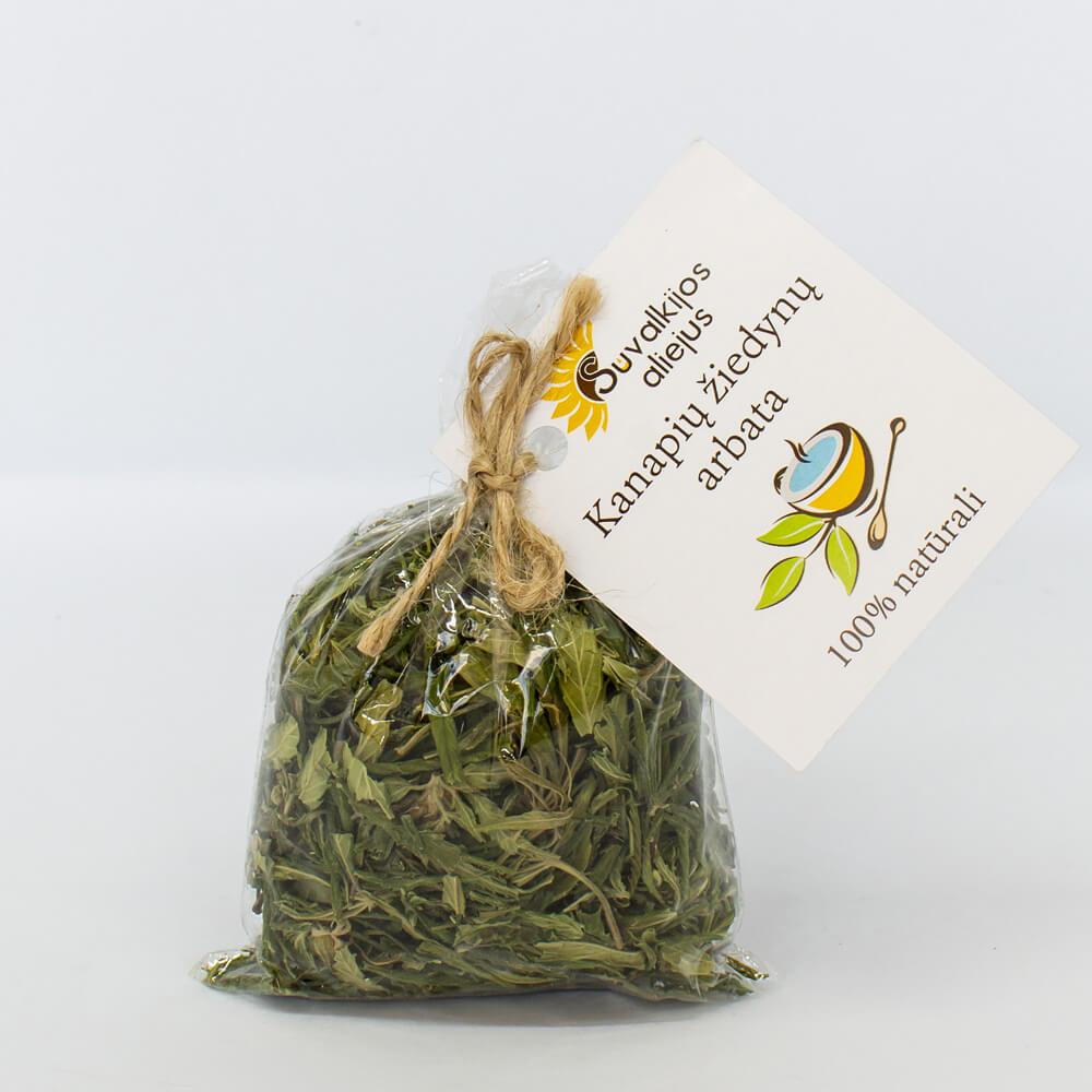 Kanapių arbata, 10 g.