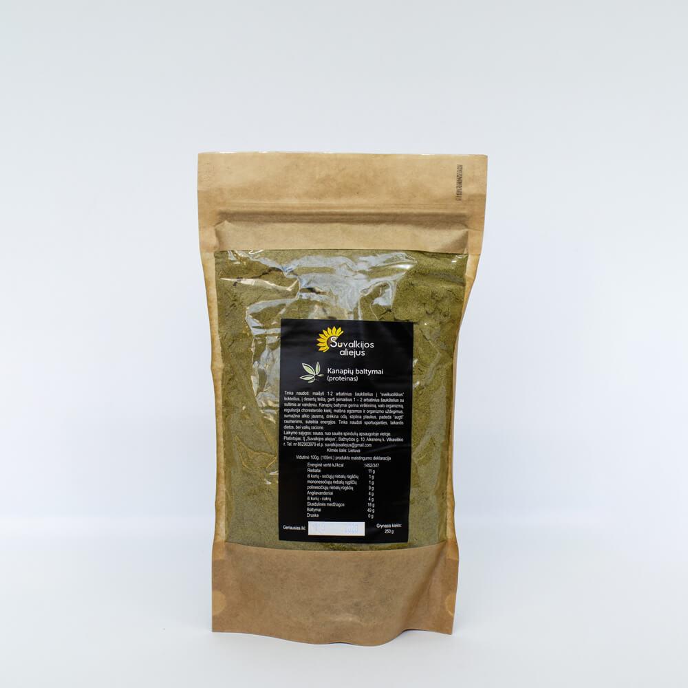 Kanapių baltymai (proteinas), 250 g.