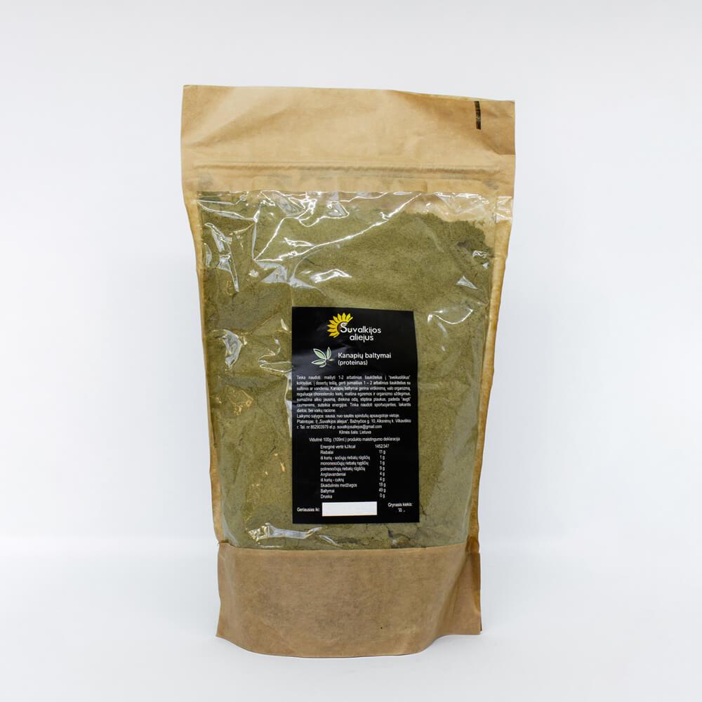 Kanapių baltymai (proteinas), 500 g.